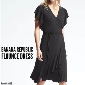 • Flounce Dress • by Banana Republic